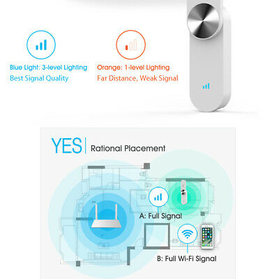 360 WiFi Extender R1Wireless Network Wifi Amplifier Repeater Signal Booster I5L0