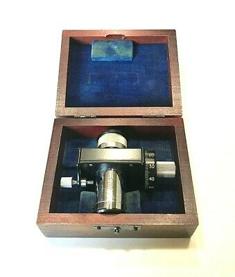 Bausch & Lomb 10 Division Micrometer Ocular (Eyepiece) For Measuring Microscope