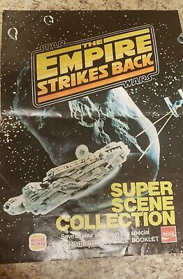 Star Wars Empire Strikes Back Super Scene Collection Burger King 100% COMPLETE