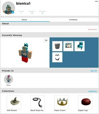 ROBLOX ACCOUNT WITH BC - £125 00 | PicClick UK