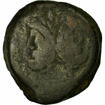 [#516084] Coin, Anonymous, As, 169-158 BC, Uncertain Mint, VF(20-25), Bronze