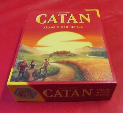 Catan CN3071 Standard Board Game USED COMPLETE