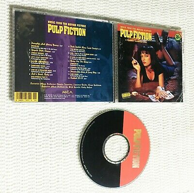 Pulp Fiction Movie OST Original Soundtrack CD CLASSIC FREE SHIPPING! ✨