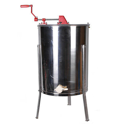 Manual 4 Frame 304 Stainless Steel Honey Extractor Machine with Stand