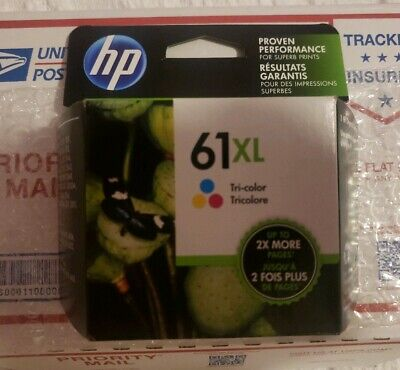 HP 61XL High-Yield Ink Cartridge Tri-Color EXPIRE JUNE 2021 !