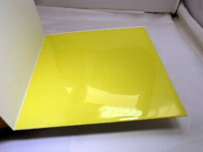 "KODAK Color Printing Lens Filter 6X6"" gelatin square CP-40Y Yellow"