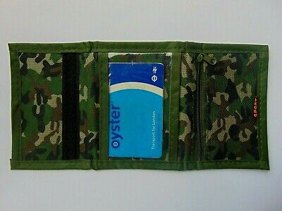 Mens - Boys CAMOUFLAGE RIPPER WALLET