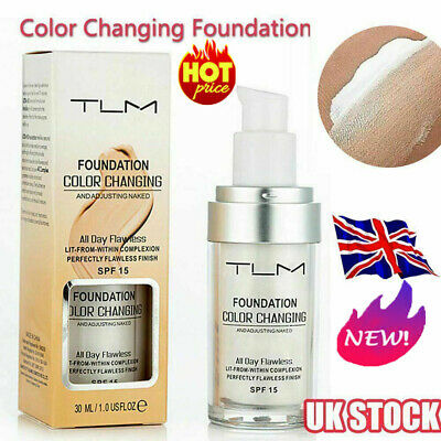 Magic Flawless Colour Color Changing Foundation TLM Makeup Change Skin ToBJ