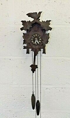 German-Made Cuckoo Clock. Fully Working.  (Hospiscare)