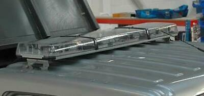 Set of clear lenses for Premier Hazard Lomax/Midimax lightbar flashing beacons