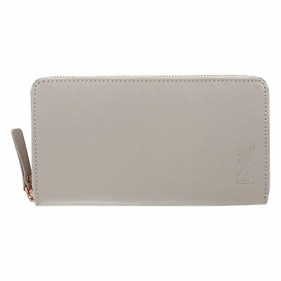 Liverpool FC Grey Leather Purse LFC Official