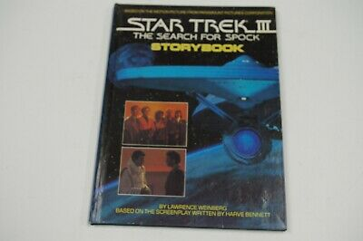 Star Trek III: The Search for Spock Movie Illustrated Storybook Vintage 1984