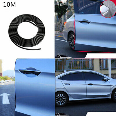 10M Car Universal Anti Collision Door Side Edge Rubber Bumper Protection Strips