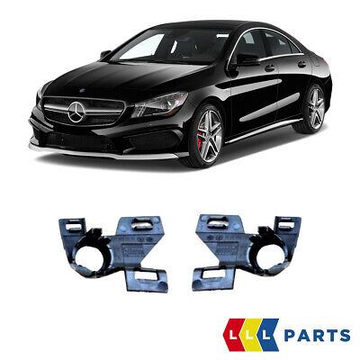 New Genuine Mercedes Benz W117 Cla 45 Amg Fl Front Bumper Mounting Brackets Pair