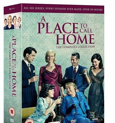 A Place to Call Home Series Season  1 -6 Complete  DVD Boxset  2019 New/Sealed