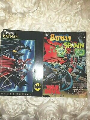 Spawn/Batman Comic Book, Lot of12 issues, Todd McFarlane