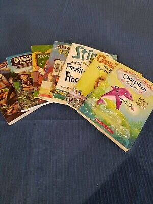 Lot of 7 chapter books RANDOM Children's Youth Early Readers Boys and Girls