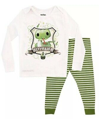Boys Girls 4 - 5 Years Harry Potter Slytherin Pyjamas New BNWT