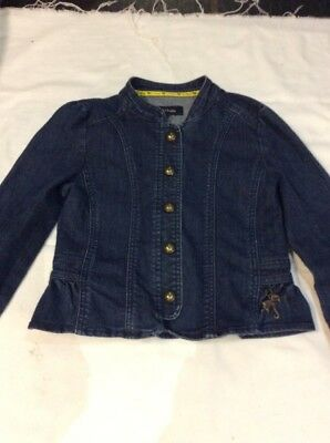 DENIM JACKET  8 yrs J Jeans JASPER CONRAN Fitted Military Style Hardly Worn