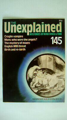 The Unexplained Magazine Issue 145 Orbis 1983