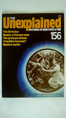 The Unexplained Magazine Issue 156 Orbis 1983