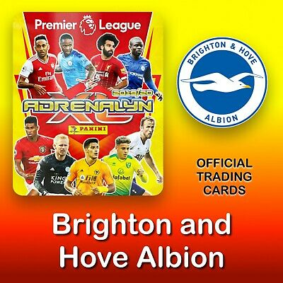 Panini Adrenalyn XL 2019-2020: Brighton & Hove Albion cards. Premier League. NEW