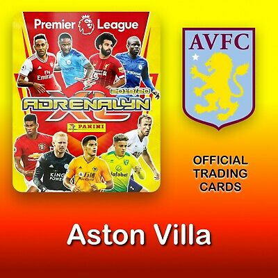 Panini Adrenalyn XL 2019-2020: Aston Villa cards. Premier League. NEW