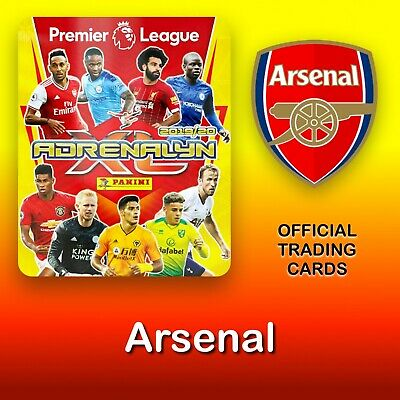 Panini Adrenalyn XL 2019-2020: Arsenal cards. Premier League. NEW