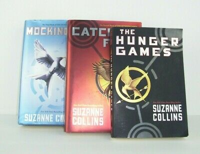 Hunger Games Trilogy BOOK SET 1 2 3 MIXED PAPERBACK HARDCOVER Suzanne Collins