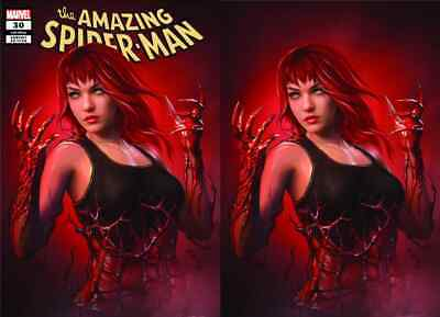 Amazing Spiderman 30 Shannon Maer Carnage-Ized Virgin Variant Set Pre-Sale 9/25