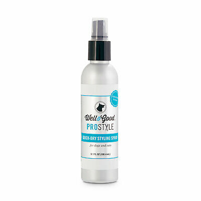 Well & Good ProStyle Quick-Dry Dog and Cat Styling Spray, 6.1 fl. oz.