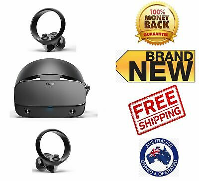 Oculus Rift S PC Powered VR Gaming Headset Virtual Reality Head Set Touch NEW A+