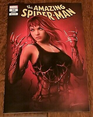 Amazing Spider-Man 30 Shannon Maer Carnage Ized Mary Jane Variant Absolute Hot!
