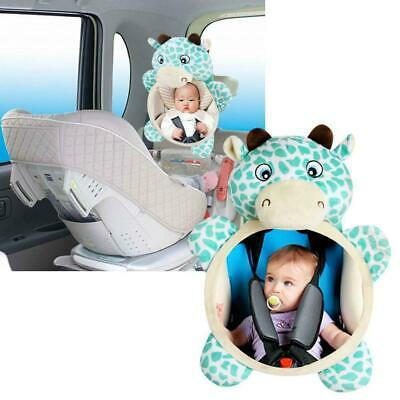 Baby Car Seat Rear View Mirror Facing Back Infant Kids Child Ward Safety To Y1V3
