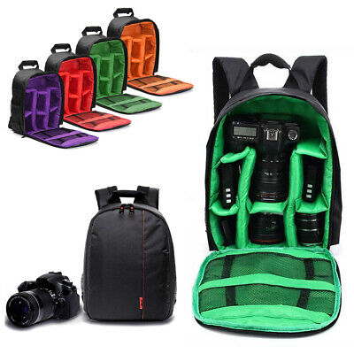 Waterproof Camera Backpack Bag for Canon Nikon Sony DSLR  Mirrorless by Photo