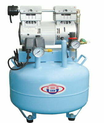 40L Dental Air Compressor Noiseless Oilless 150L/min 1-Driving-2 Reliable BD-201
