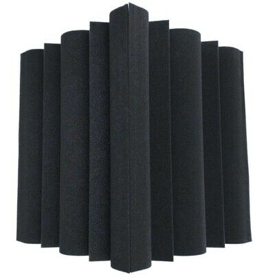 4 pcs Corner Bass Trap Acoustic Panel Studio Sound Absorption Foam 12*12*24 B1F1