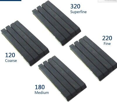 4x Honing Stones for 50mm to 75mm Honing Machine (Grid- 320, 220, 180, 120)@UK