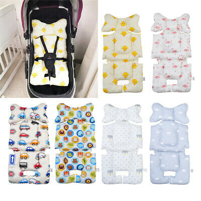 Soft Washable Stroller Pushchair Car Seat Padding Pram Liner Pad Cushion