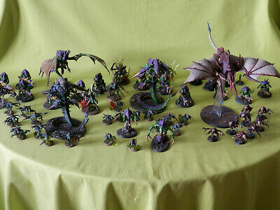 Warhammer 40K Tyranids Army - Many Units To Choose From