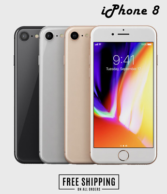 Apple iPhone 8 64GB 256GB - Network Unlocked / All Colours