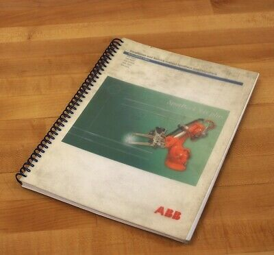 ABB 3HAC 17667-1 Installation & Service Manual SpotPack & DressPack - USED