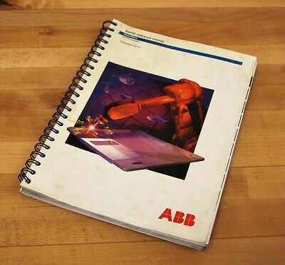 ABB 3HAC 7783-1 Rapid Reference Manual Overview - USED