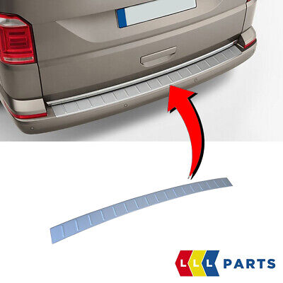 New Genuine Vw Transporter T6 Rear Bumper Stainless Steel Protector