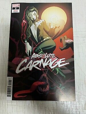Absolute Carnage #2 Kris Anka Cult Of Carnage 1:25 Incentive Variant VF/NM