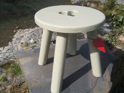 Heart Milking Stool