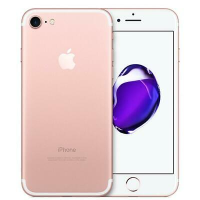 Apple iPhone 7 T-Mobile 32GB Rose Gold White A1778 Good Condition CLEAN IMEI