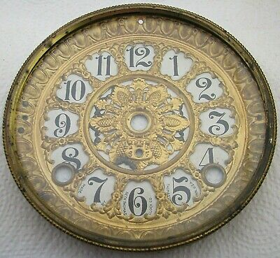Antique Seth Thomas Adamantine Mantel Clock Dial Bezel Parts Repair