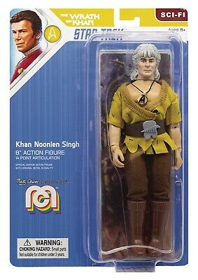 Wrath of Khan  Khan Mego 8 inch ACTION FIGURE SCI FI wave 7 Presell