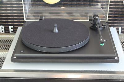 SEE REVOLVER REBEL TURNTABLE with Pig puck & AT95 Cartridge GWO VGC